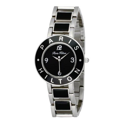 Paris Hilton Women's 138.5167.60 Logo Black Dial Watch