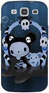 The Racoon Grip Spooky hard plastic printed back case / cover for Samsung Galaxy S3