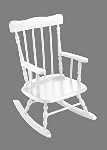 Gift Mark Childrens 3700 Rocking Chair - White by Gift Mark