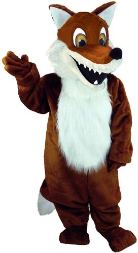Red Fox Lightweight Mascot Costume