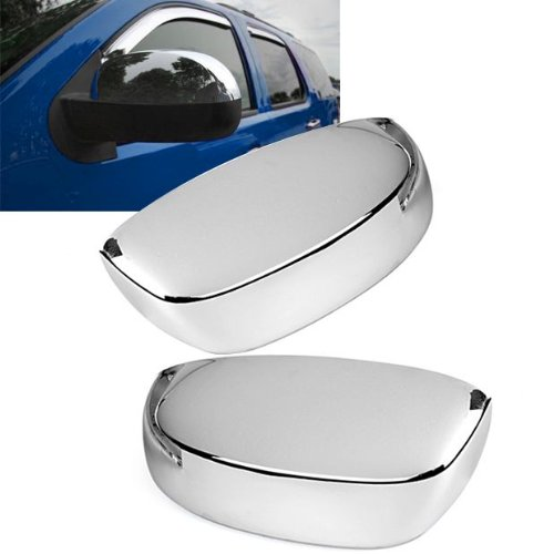 2 Pcs Chrome Upper Half Mirror Cover Kits Set For 2007-2011 Gmc Yukon Brand New front-526620