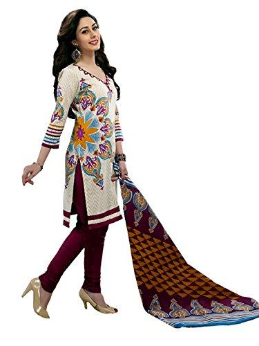 Rajnandini Womens Cotton Unstitched Salwar Suit Dress Material (Joplmsf2017 _Multi-Coloured _Free Size)