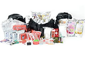 Premium Family Emergency Survival Bug Out Bag - 4 Person Disaster Prepper 72 Hour Go... by Legacy Premium Food Storage