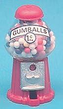Dollhouse Miniature Chrysnbon Countertop Gumball Machine