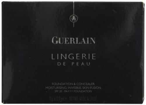 Guerlain Lingerie de Peau Fond de Teint & Correcteur fondo tinta compatto e correttore n. 04 beige moyen