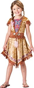 Girls Indian Maiden Costume XS