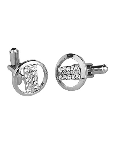 Voylla Exquisite Silver Cuff Links  available at amazon for Rs.164
