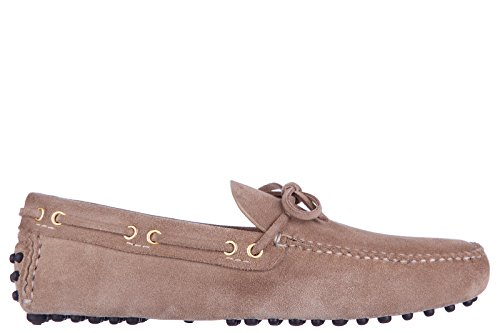 Car Shoe mocassini uomo in camoscio beige EU 44 KUD006 LVA F0F24