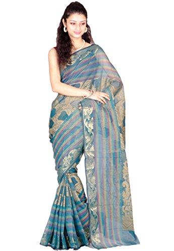 Chandrakala Pure Banarasi Cotton Saree (6876)