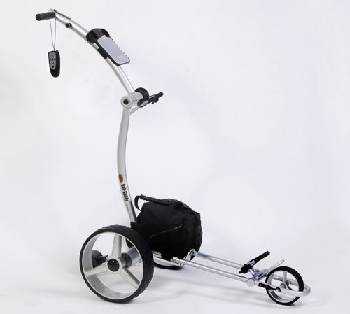 Bat Caddy X4R Electric Golf Bag Cart, Trolley w/Remote Control