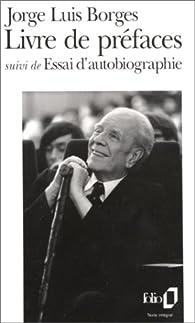 Livre de pr�faces par Jorge Luis Borges