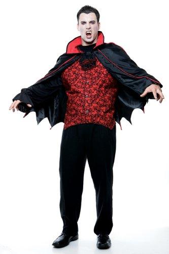 Count Men'S Xl Adult Halloween Costume