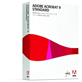 Adobe Acrobat 9 Standard ��{��� Windows��