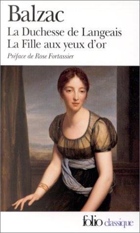 LA Duchesse De Langeais (Folio Series : 846)
