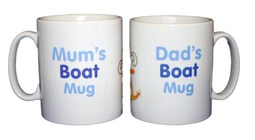 Mum-and-Dads-Boat-Mug-Set-smash-proof-polymer