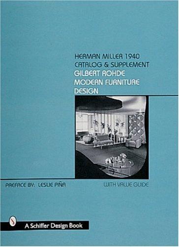 Herman Miller 1940 Catalog & Supplement