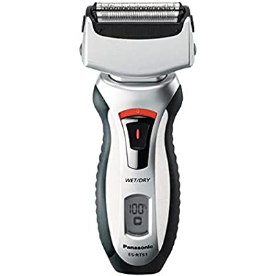 Panasonic ES-RT51-S 3-Blade Nanotech Wet/dry Rechargeable Shaver Silver