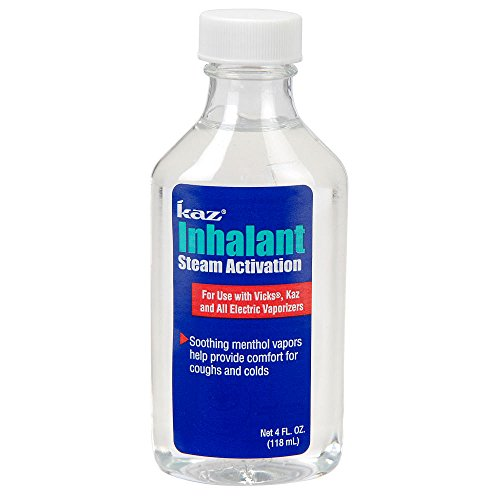 Kaz Inhalant 4 Ounce - Help Provide Comfort From Coughs And Colds With Kaz Inhalant