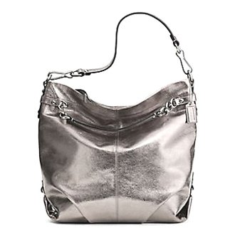 811d8e12a83d7 ... shoulder handbag 458f2 02cc0 sweden do you need to buy coach leather  large brooke convertible hobo bag purse 16618 pewter ...