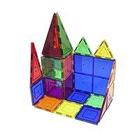 PicassoTiles 100-Piece Set Magnet Building Tiles