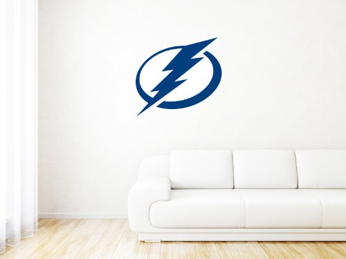 Tampa Bay Lightning NHL Logo Wall Graphic Decal Sticker (25