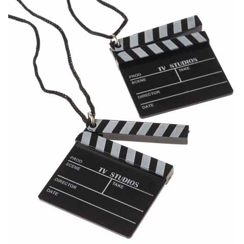Hollywood Clapboard Necklace