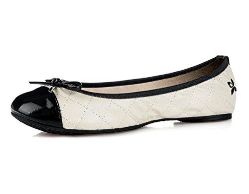 Butterfly Twists Olivia,  Avorio Cream/Black