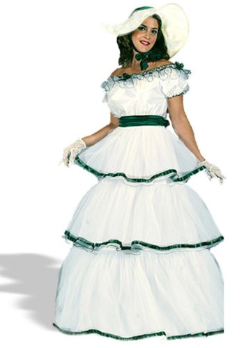Southern Belle Adult Halloween Costume - Size Small/Medium (2-8)
