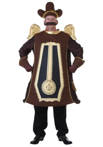 Fun Costumes Men's Clock Costume