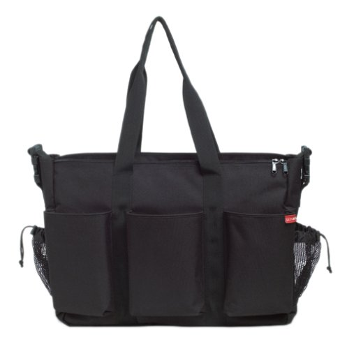 Skip Hop Double Duo Deluxe Changing Bag - Black