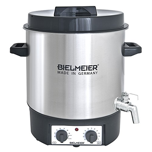 """Bielmeier 495400fraîcheur, et le vin chaud de entièrement automatique, 27L, 1/2""""en acier inoxydable Robinet, 1800W, BHG 495.4"""