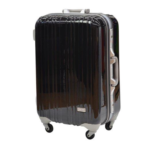 スポルディング スーツケース ハードケース TSAロック搭載 SP-0614 67cm (ブラック)