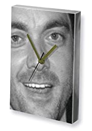 MARK SHEPPARD - Canvas Clock (LARGE A3 - Signed by the Artist) #js001
