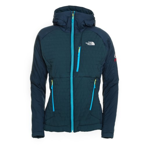 The North Face Women's Polar Hooded Jacket 2013, Farbe: Kod Blue/Turq Blue (YL6), Größe: M