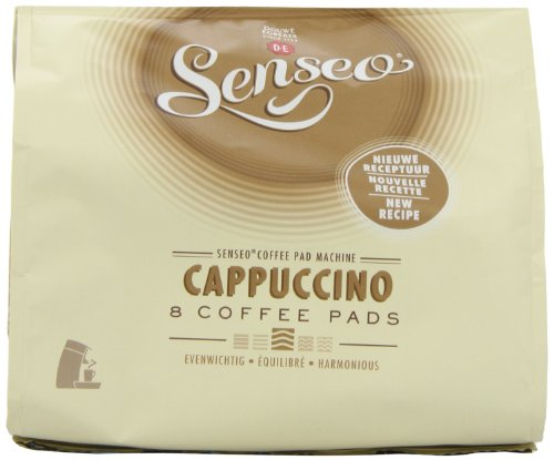 Purchase Douwe Egberts Senseo Cappuccino (Pack of 4, Total 32 Pods) from Douwe Egberts