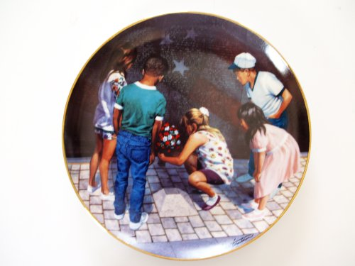 Franklin Mint Vietnam Veterans Memorial Commemorative Plate