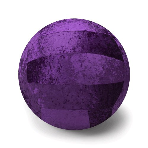 Gaiam Balance Ball Chair Cover (Plum)