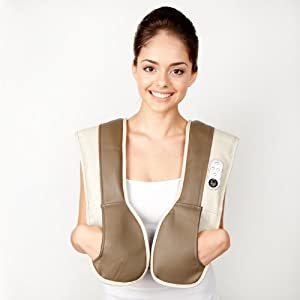 Zyllion ZMA-08 Neck and Shoulder Massager with Heat (ZMA-08) from Zyllion, Inc.