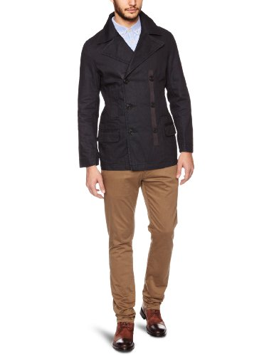 Esprit Denim L89835 Men's Coat Coated Night X-Large