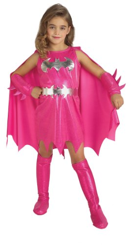 DC Comics Pink Batgirl Child's Costume (Size Small)