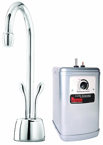 Mountain Plumbing 650DIYNLBRN Instant Hot/Cold Water Dispenser with Heat Tank (Brushed Nickel)