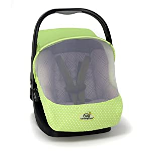 cozy car seat sun and bug cover green baby stroller weather hoods baby. Black Bedroom Furniture Sets. Home Design Ideas