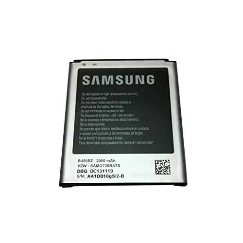 OEM Samsung Original B450BZ Standard 2000mAh Battery for Galaxy S3 Mini AT&T SM-G730A Verizon SM-G730V - Non-Retail Packaging (Oem Samsung S3 Mini Battery compare prices)