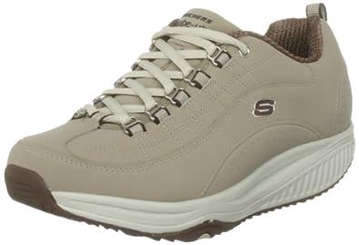 Skechers Women's Shape-ups XF Energy Blast Sneaker  Grey UK 4.5