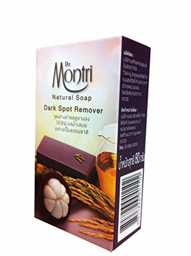 2 Bars of Natural Soap Dark Spot Remover Formula. Helps Cleansing Impurities and Deep Cleanses the Skin. By Dr.montri Brand. (80 G/ bar soap) (Syrup In My Soda compare prices)