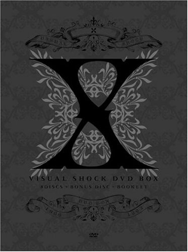 X VISUAL SHOCK DVD BOX 1989-1992