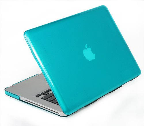 competitive price 212a3 47777 KHOMO Blue SeeThru Crystal Hard Case Cover for Apple MacBook Pro 15 ...