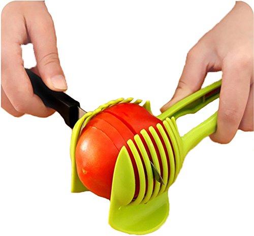 Tomato Slicer Easy Slice Universal Slicer Lemon Slicer Tomato Cuter Chopper Clamp Holder