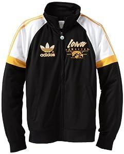 NCAA Iowa Hawkeyes Men's Originals BTC Track Jacket (Black, Small)