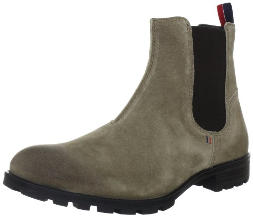 Tommy Hilfiger Men's CARLOS 8B Boots Gray Gris - Grau (TIMBER WOLF 248) 7 (41 EU)